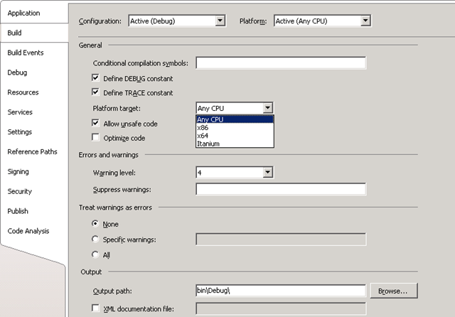 Moving Asp Web Application From 32 Bit To 64 Bit Thoughts Debugged